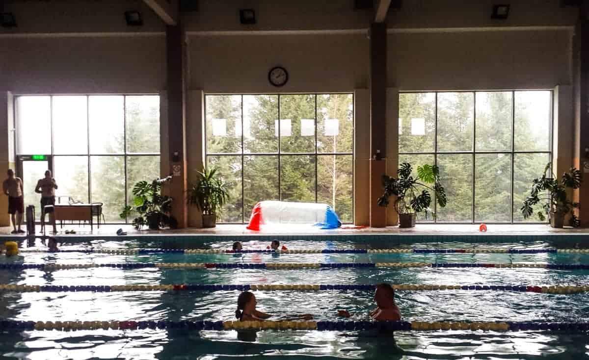 Bangenis – Anyksciai Swimming Pool