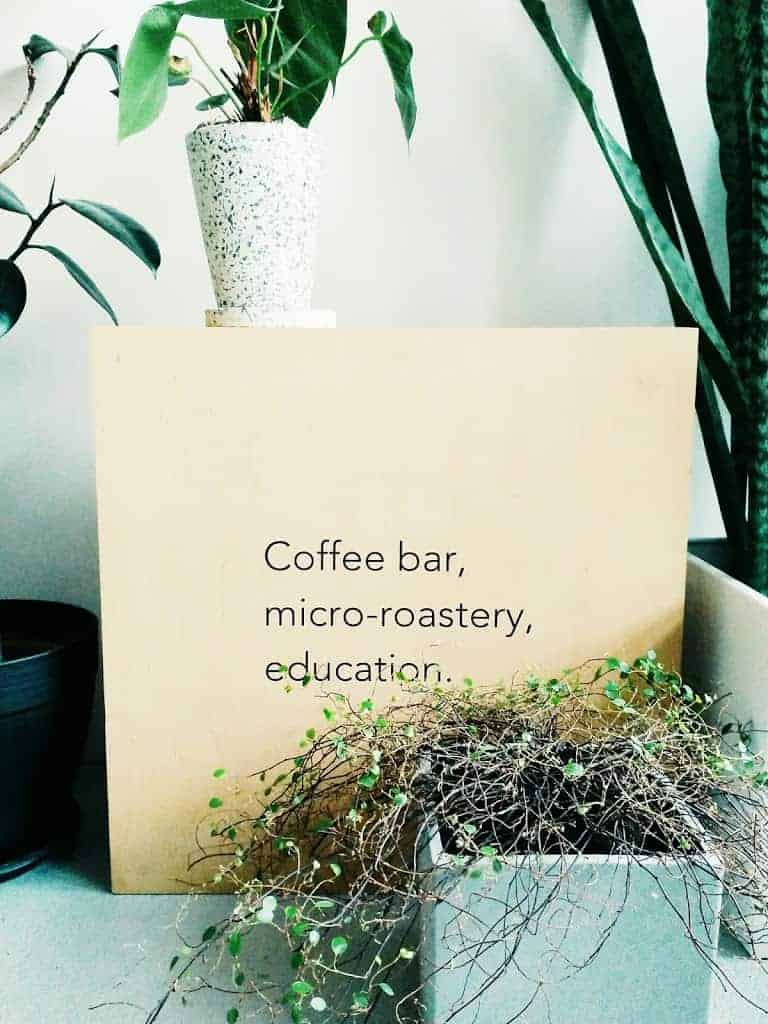 micro-roastery, coffee bar, education