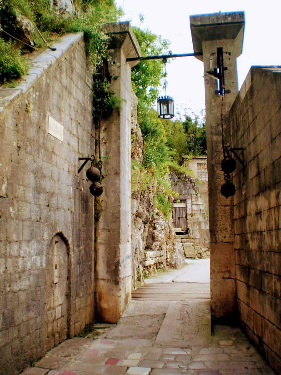 kotor best place montenegro old town