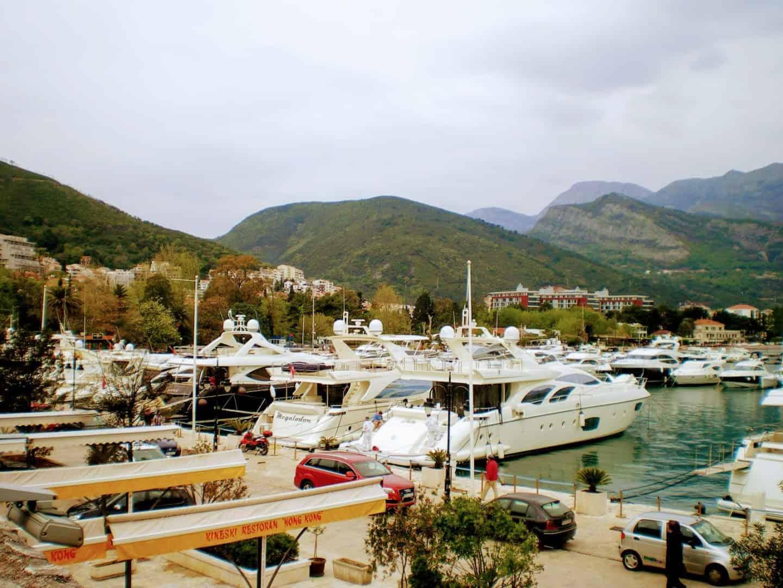 Budva Harbour Montenegro