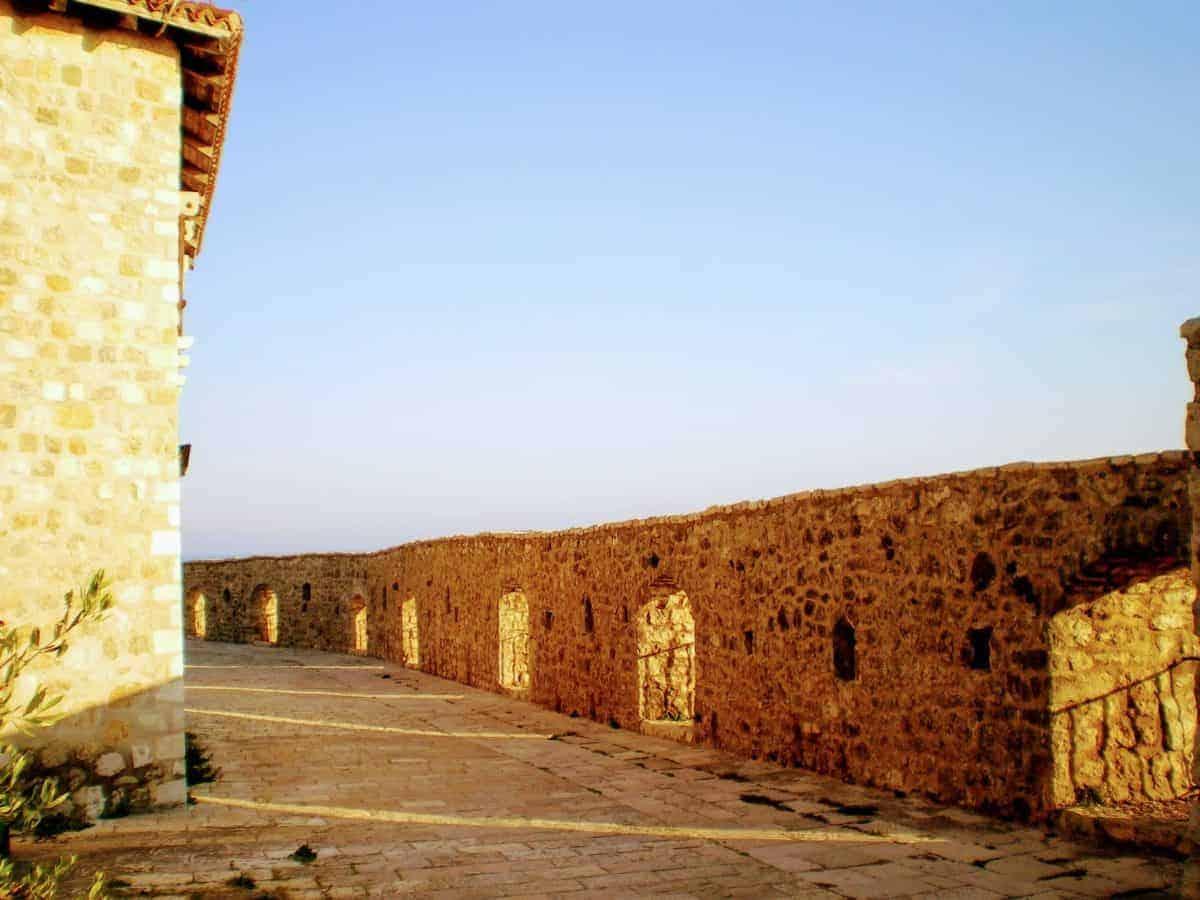 ulcinj montenegro old town city walls