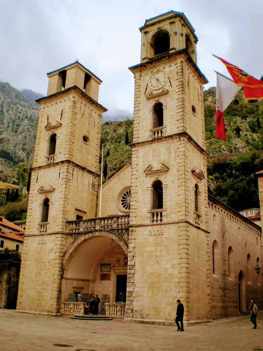 Kotor St Tryphon cathedral montengero