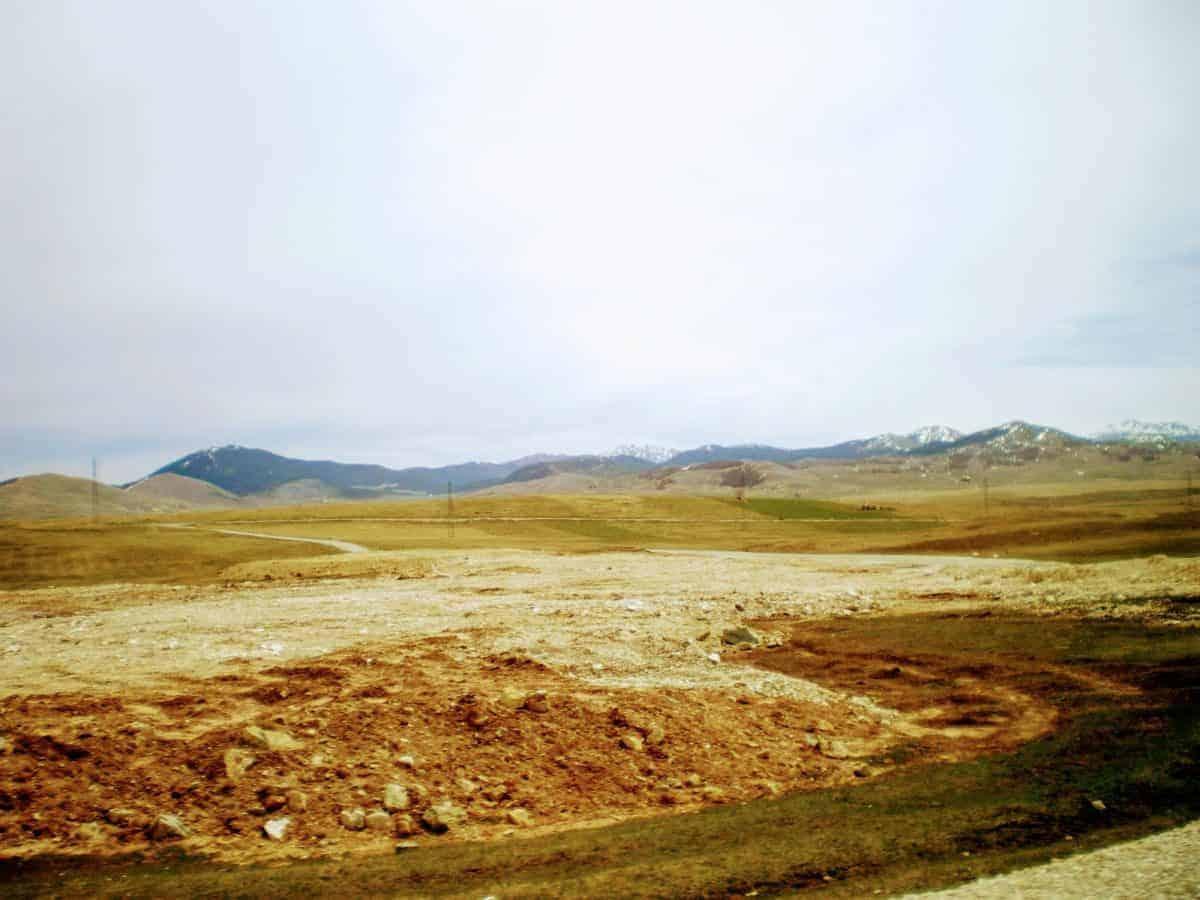 fields mountains durmitor montenegro