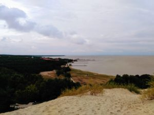 View over Nida from Parnidis Dune