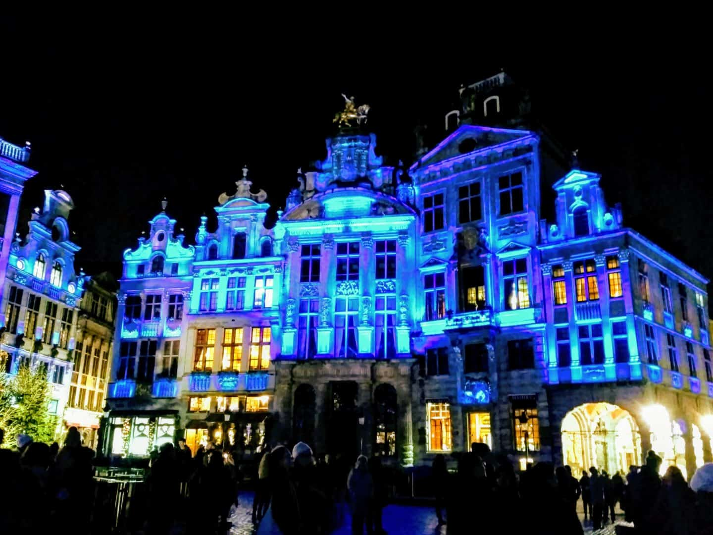 Christmas at Grand Place, Brussels