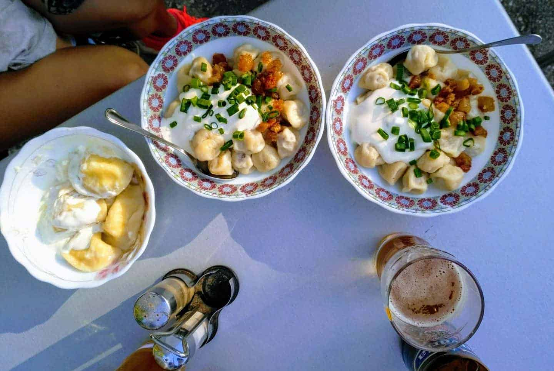 Kavarsko koldunai cafe in Anyksciai, July