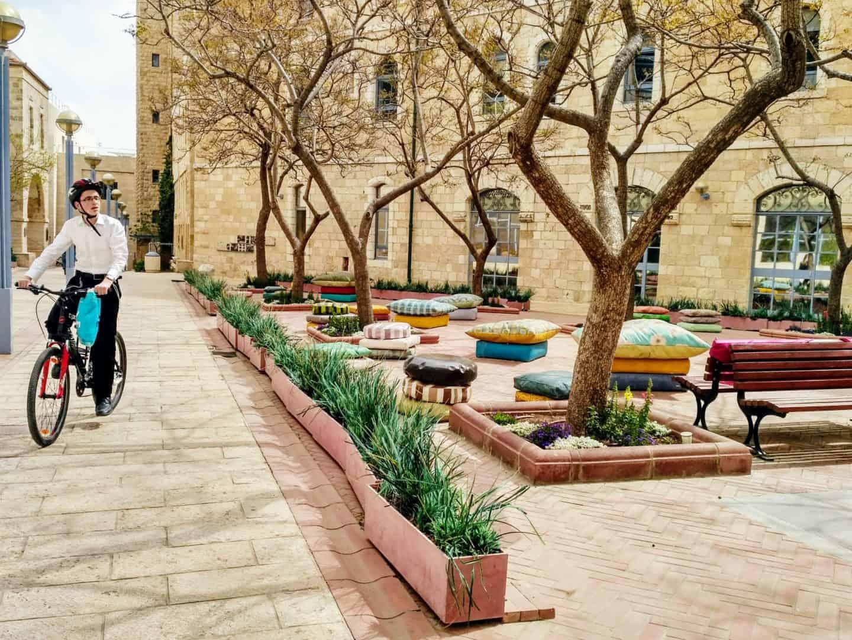 Cycling in Jerusalem