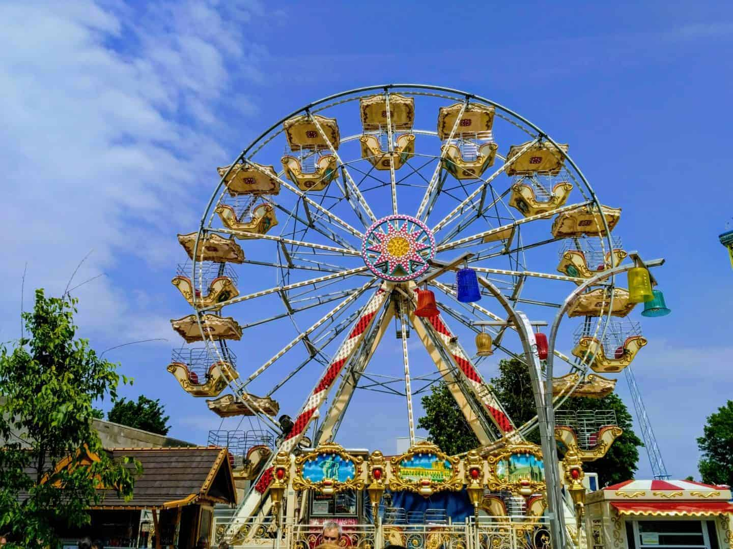 Prater in Vienna, May