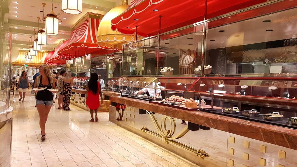 Buffet in Wynn Las Vegas