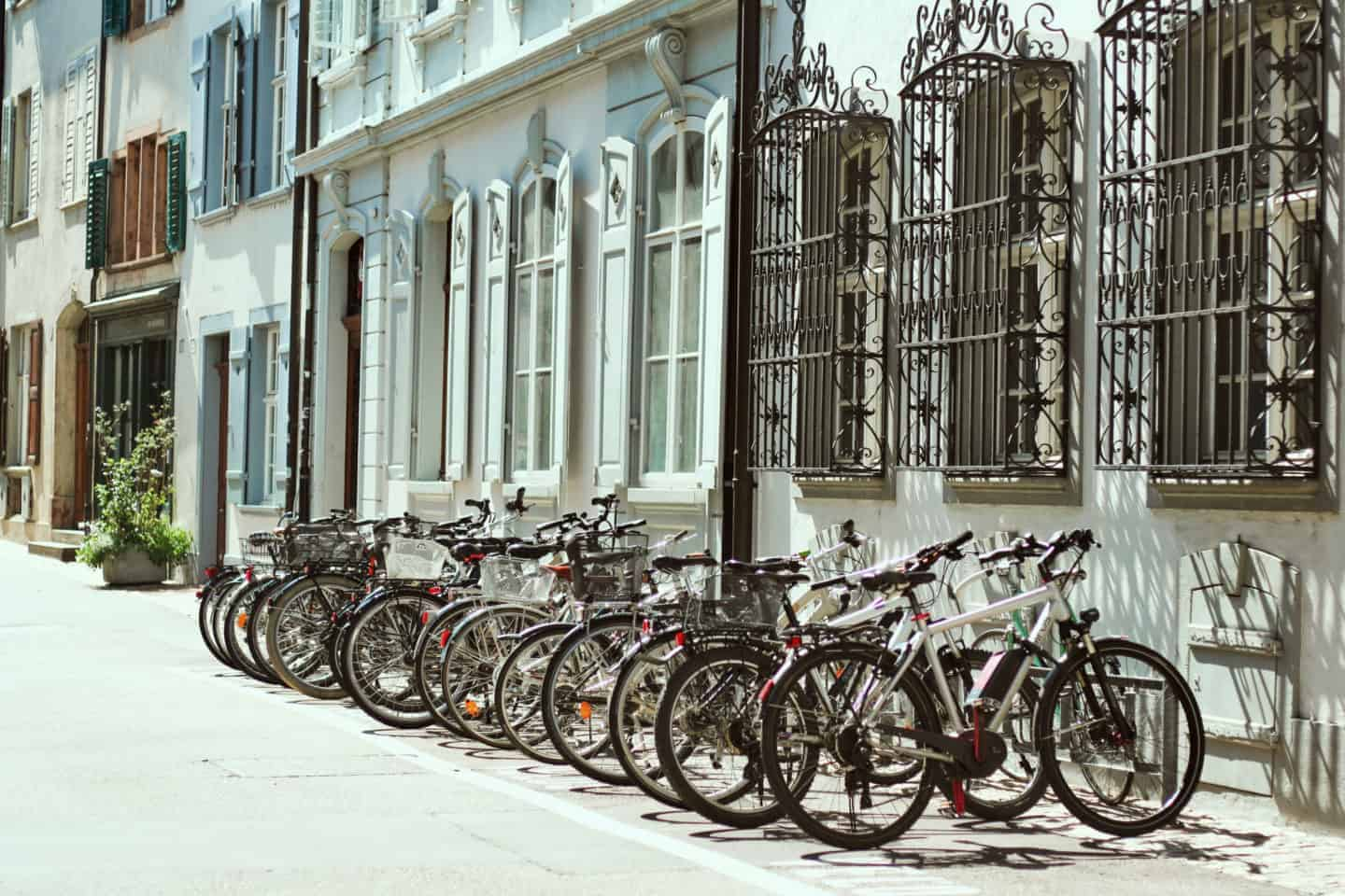 Bicycles in Basel