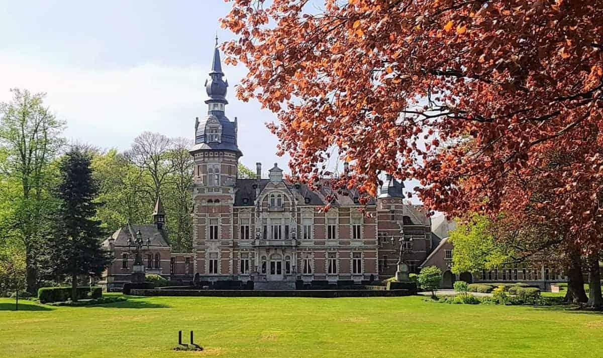 Anwerp Belgium in autumn