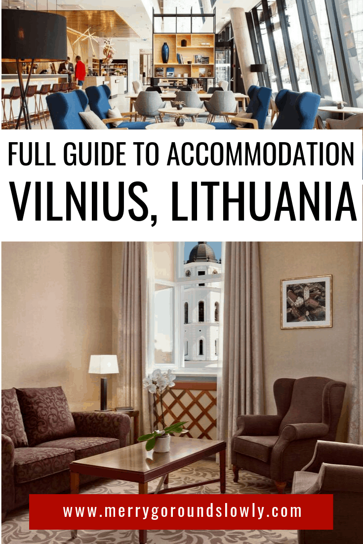 Image on hotels in Vilnius Lithuania