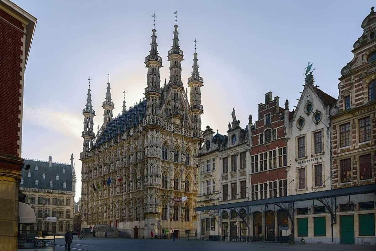 Leuven in autumn