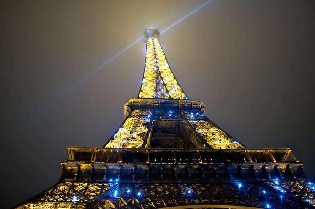 Eiffel Tower New year