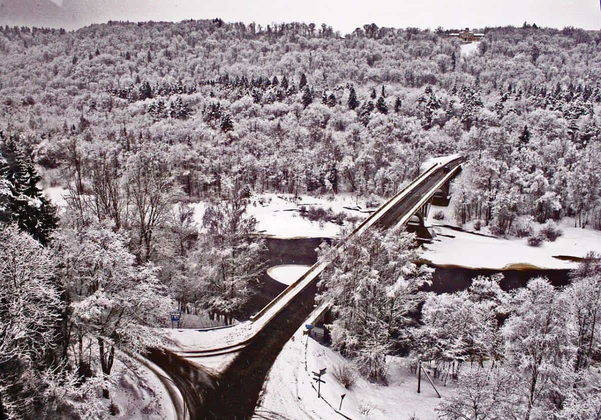 Sigulda in winter