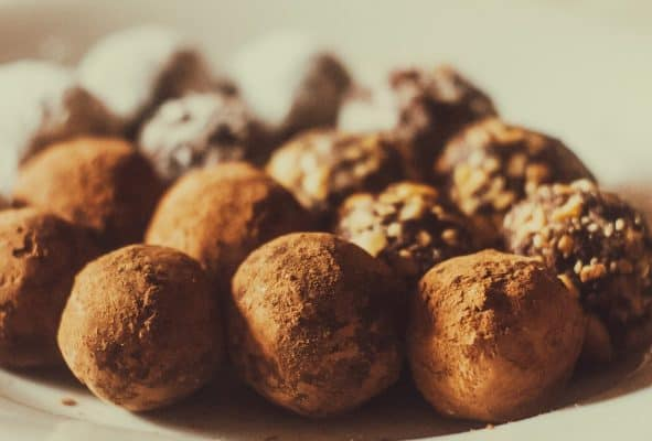 truffles made during chocolate workshop in brussels