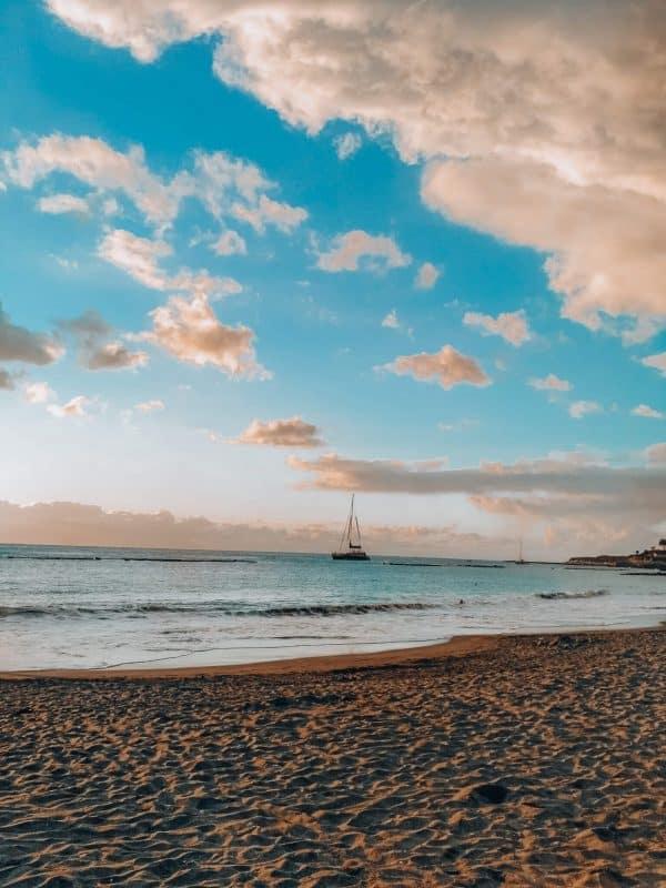 costa adeje beach tenerife