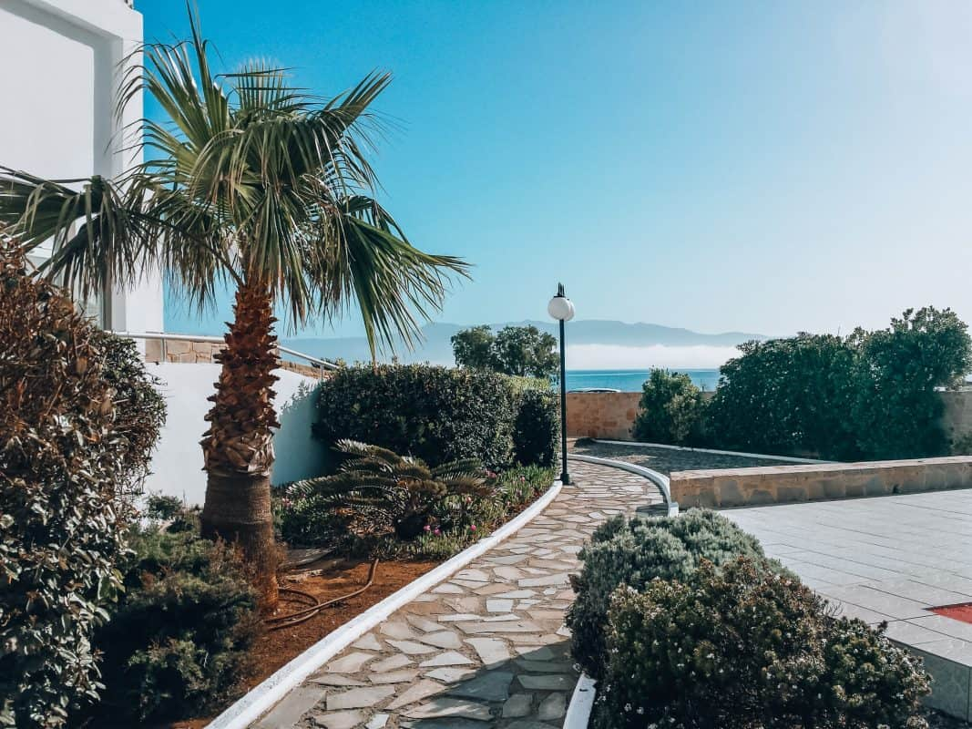 accommodation western crete