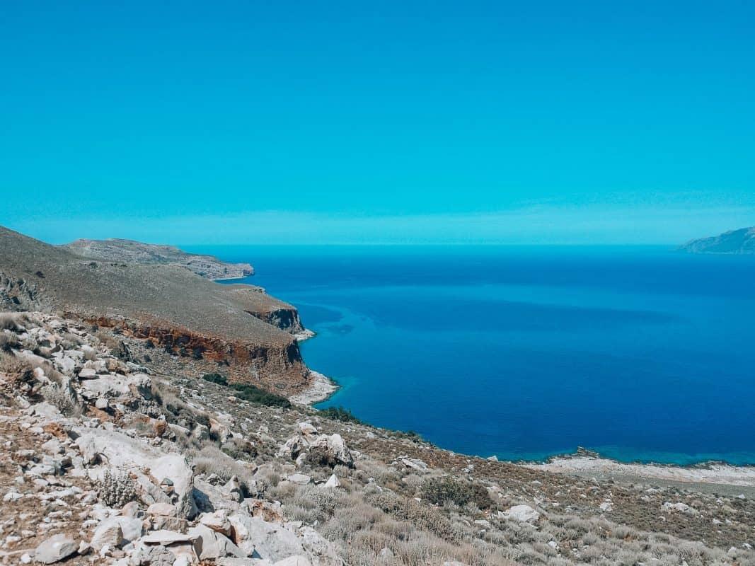driving to falassarna crete