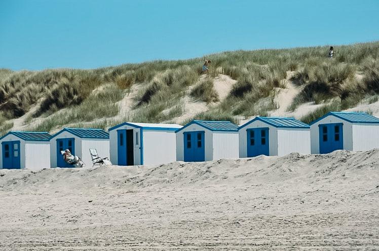 texel netherlands beach cabins