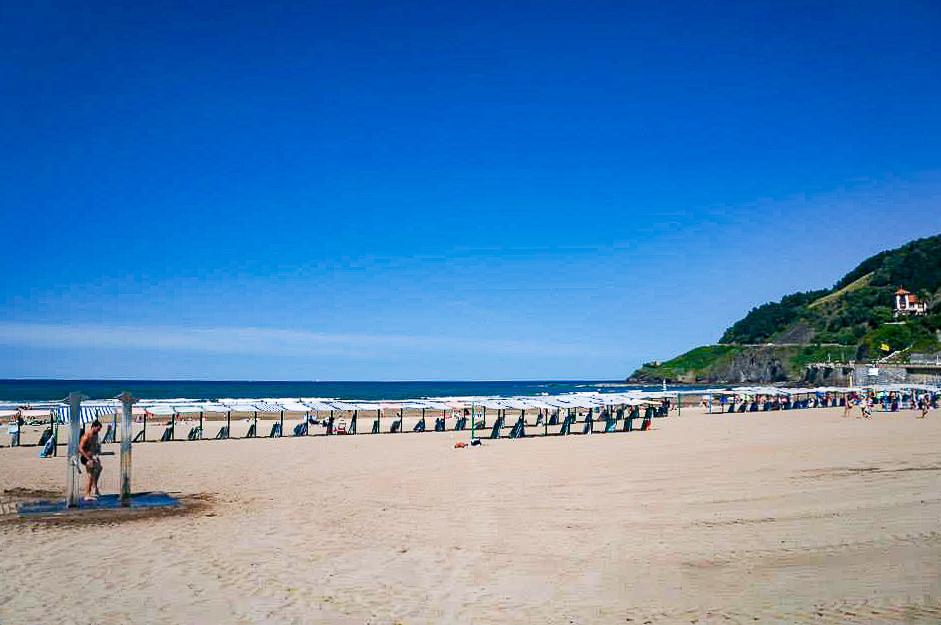 basque country beach