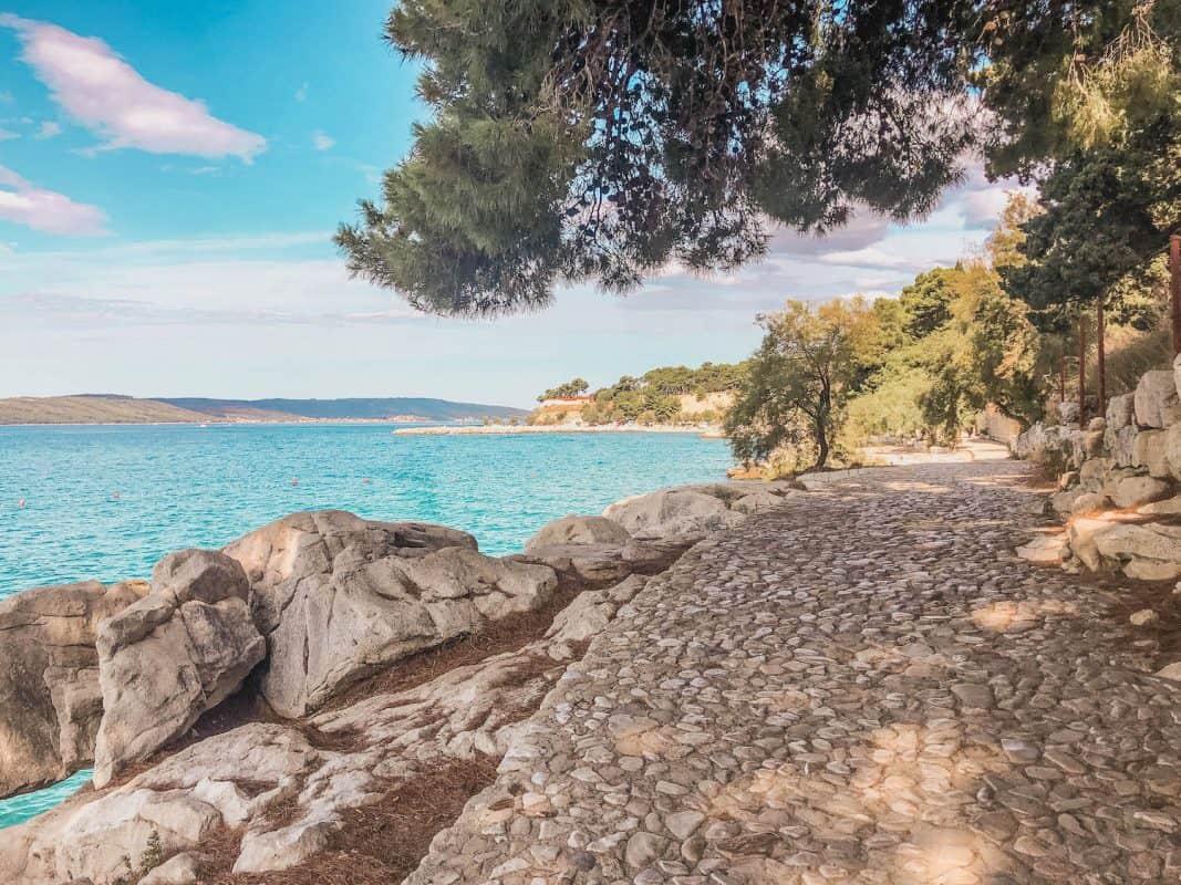 Jezinac Beach in Split
